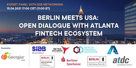 Berlin Meets USA: Open Dialogue with Atlanta FinTech Ecosystem tickets