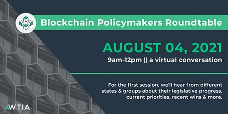 Blockchain Policymakers Roundtable tickets