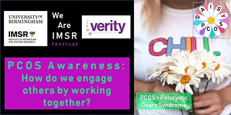 We Are IMSR: PCOS Awareness - how do we engage others by working together? tickets