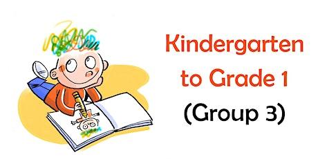 Summer Reading Program for Kindergarten to Grade 1 (Group 3) tickets