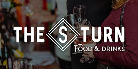 The S-Turn Food & Drinks Wine Tasting tickets