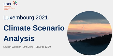 Climate Scenario Analysis - Luxembourg 2021 tickets