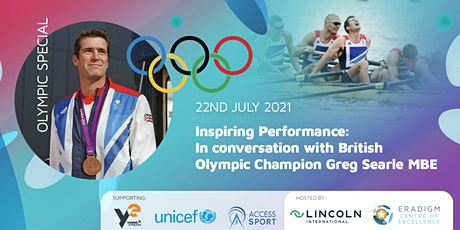 Inspiring Performance: In conversation with Olympian Greg Searle tickets
