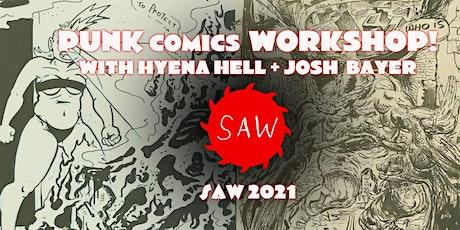 Punk Comics Workshop - June 2021! tickets