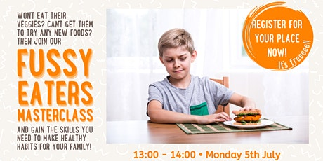 Fussy Eating- Masterclass tickets