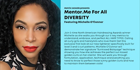 Mentor ME For all - Michelle O'Connor tickets