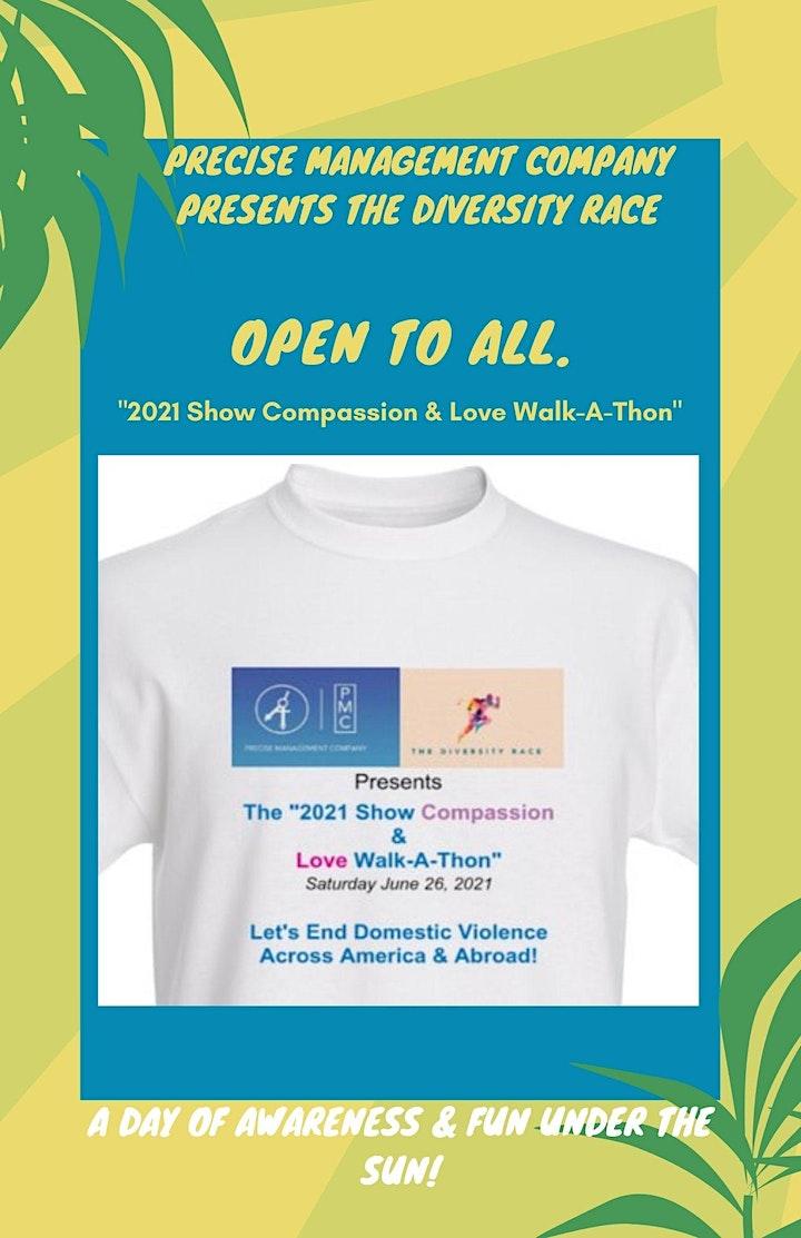 "The ""2021 Show Compassion & Love"" Walk-A-Thon image"
