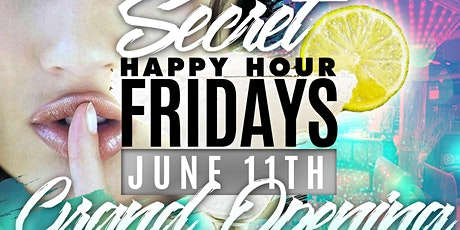 Secret Happy Hour Fridays tickets