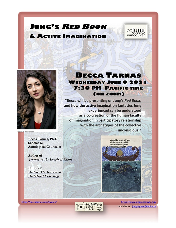 Jung's RED BOOK & Active Imagination with Becca Tarnas image