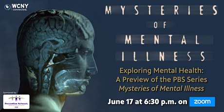 Exploring Mental Health: A Virtual Preview of Mysteries of Mental Illness tickets
