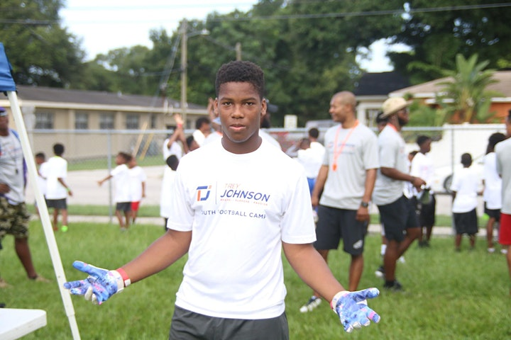 Trey Johnson Youth Football Camp image