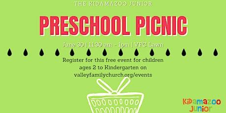 Preschool Picnic tickets