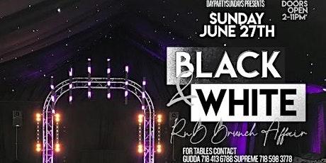 BLACK & WHITE RNB BRUNCH AFFAIR tickets
