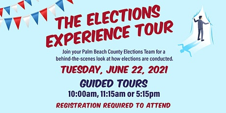 The Elections Experience Tour (Guided Tour) tickets