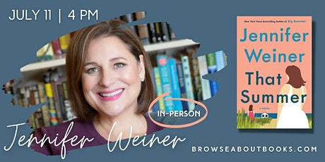 Jennifer Weiner Book Signing at Browseabout! tickets