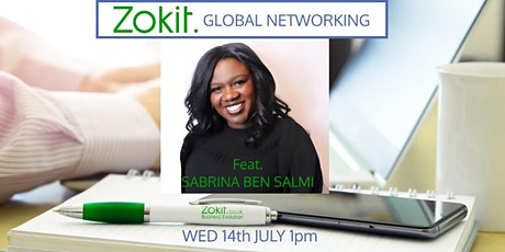 Zokit Global Networking featuring Sabrina Ben Salmi tickets