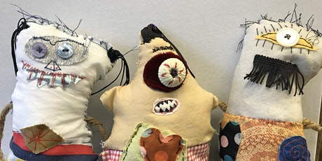 Art Under the Big Top Kids Camp- Monster Doll Afternoon tickets
