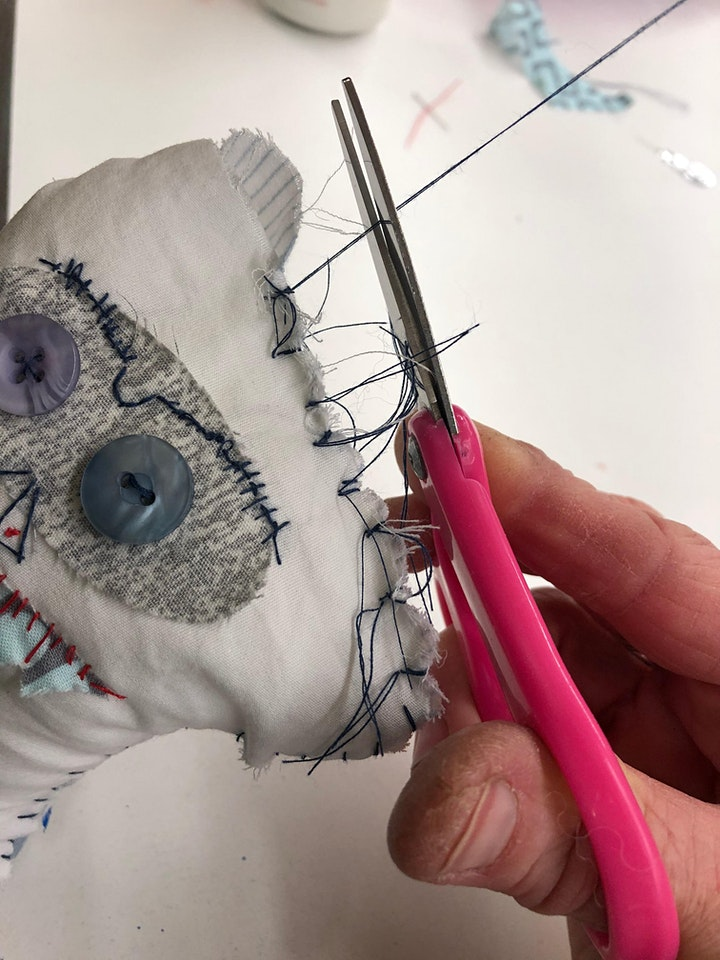 Art Under the Big Top Kids Camp- Monster Doll Afternoon image