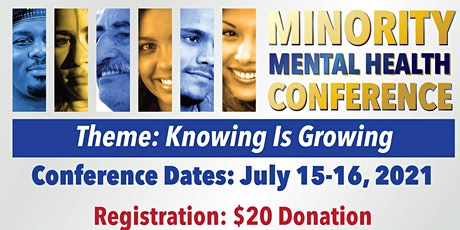 NAMI Mississippi's 2021 Minority Mental Health Conference tickets
