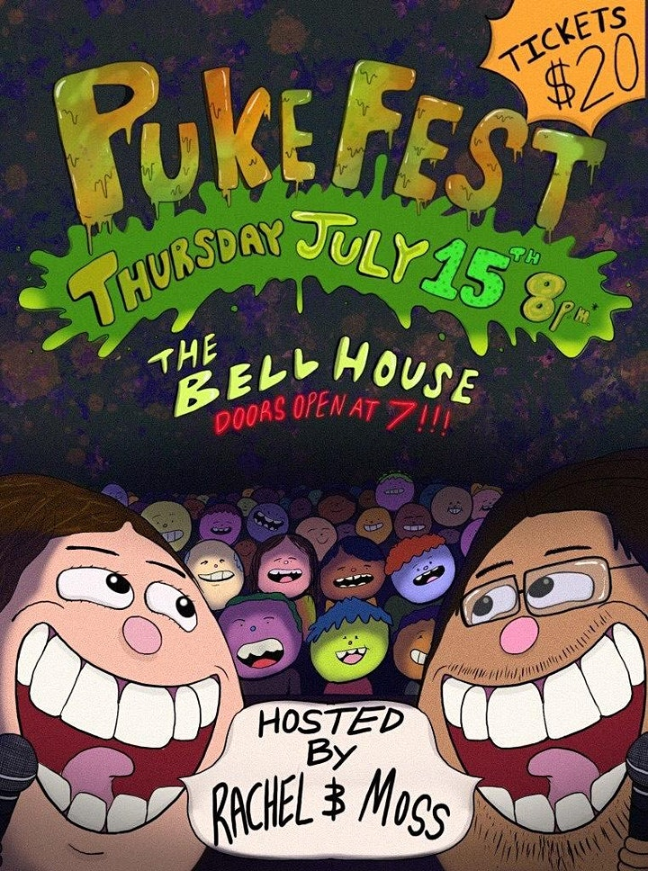Puke Fest with Rachel and Moss image