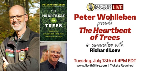 """Peter Wohlleben in conversation """"The Heartbeat of Trees"""" tickets"""
