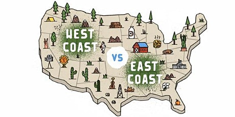 East Coast vs. West Coast Early Stage Investors: Differences in Perspective tickets