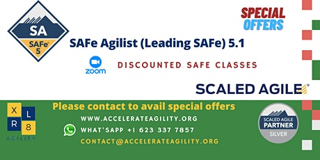 Leading Safe Leading SAFe with Certified SAFe® Agilist (SA) tickets