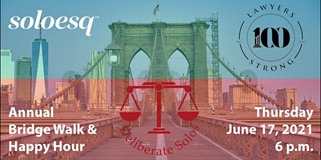 Annual Bridge Walk & Happy Hour - A Joint Legal Networking Event tickets