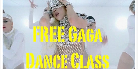 FREE Lady Gaga Dance Class on Zoom: Learn BAD ROMANCE (for new students) tickets