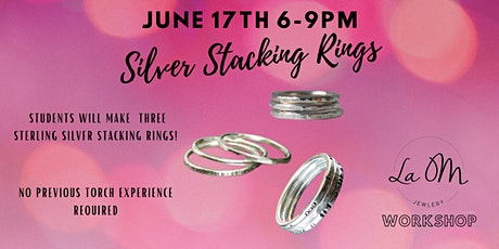 Level 1: Stacking Sterling Silver Rings tickets