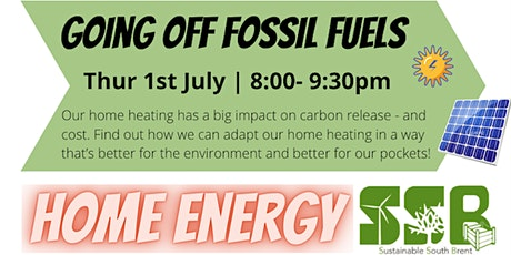 Home Energy II: Going Off Fossil Fuels tickets