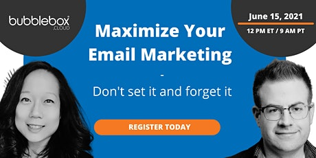 Maximize Your Email Marketing in Salesforce Marketing Cloud tickets
