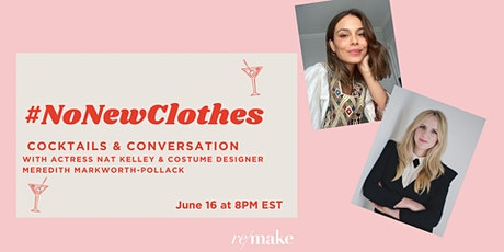 #NoNewClothes Cocktails & Conversation tickets