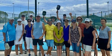 Pickleball weekly Saturday Morning event at courts opposite Currumbin RSL tickets