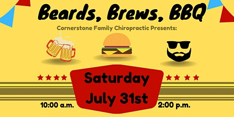 Beards, Brews and BBQ tickets