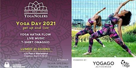 INTERNATIONAL YOGA DAY 2021 NOLO  - GET UP AND LIVE biglietti