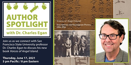 Author Spotlight with Dr. Charles Egan (Online Event) tickets