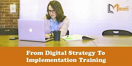 From Digital Strategy To Implementation Virtual Training in La Laguna boletos