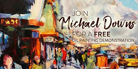 Oil Painting Demonstration tickets