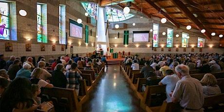 St. Joseph Grimsby Mass: June 12  - 5:00pm tickets