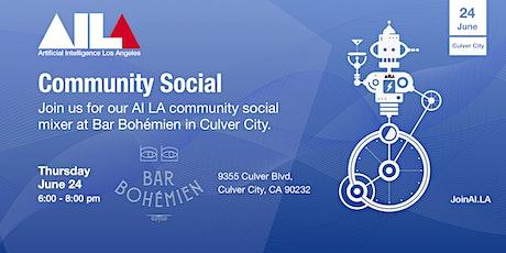 AI LA Community Social tickets