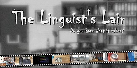 Digital escape rooms for linguistics tickets