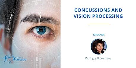 Concussions and Vision Processing biglietti