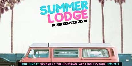 Summer Lodge: Brunch & Pool Party (6.27) tickets