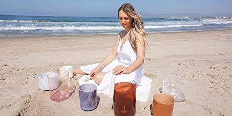 Crystal Alchemy Beach Soundbath Meditation tickets
