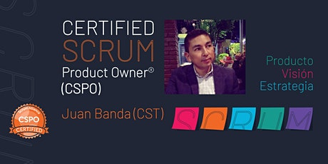 Certified Scrum Product Owner® boletos
