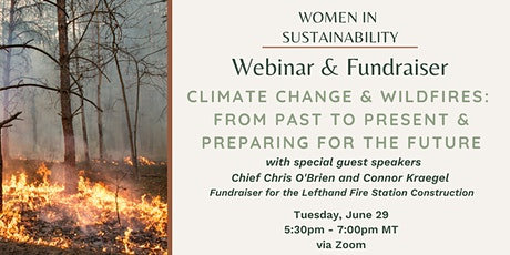 Climate Change & Wildfires: From Past to Present & Preparing for the Future tickets