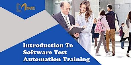 Introduction To Software Test Automation 1DayVirtualLiveTrainingin Lausanne tickets