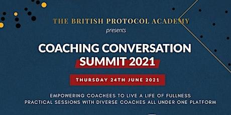 Coaching Conversation Summit 2021 tickets