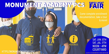 Monument Academy PCS Enrollment Fair tickets
